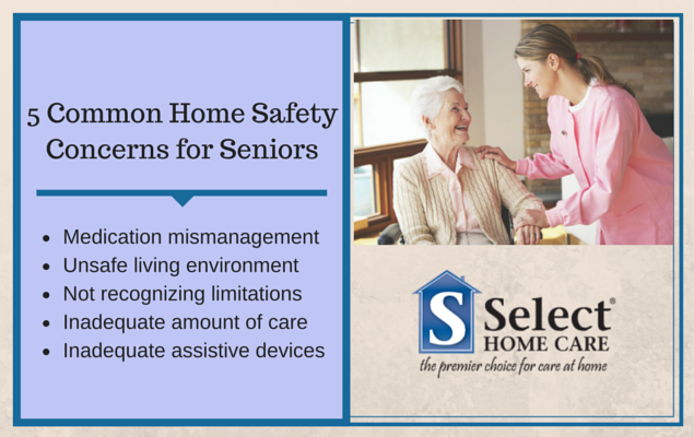 home safety concerns for seniors