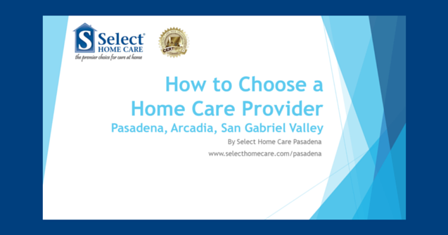 choosing in home care